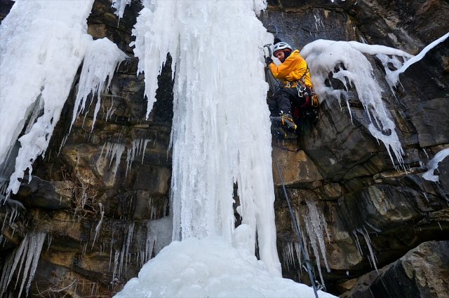 Chris being a boss on Coors Lite in Clear Creek Canyon.