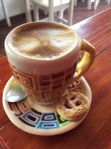 Cafe and happy treats.