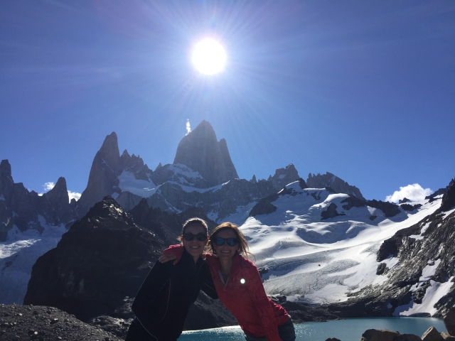 The mighty Fitz Roy in full form at Lago de los Tres.