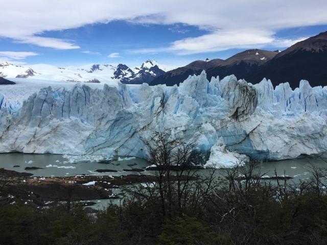 Glacier Petito Moreno in El Calafate, Argentina.