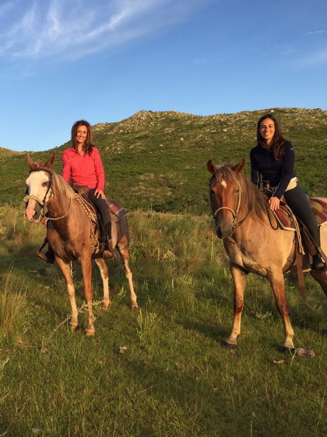 Exploring Uruguay with Leah on a horse riding trek in the mountains near Rocha.