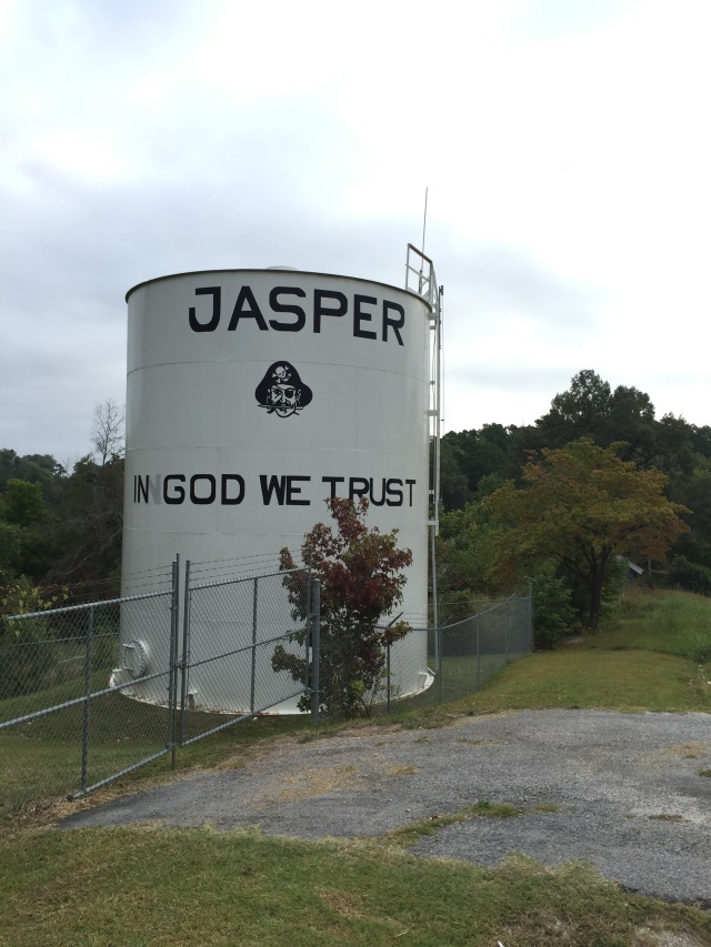 Good 'ol Jasper, Arkansas.